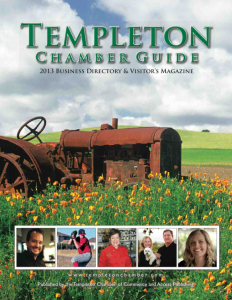 2013 Templeton Chamber Guide