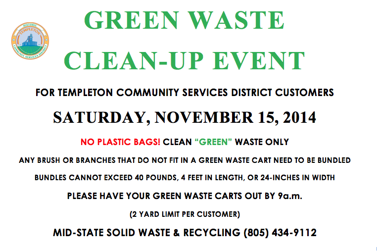 green waste clean-up