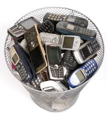 cell phone trash