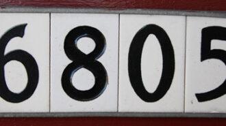 Address number