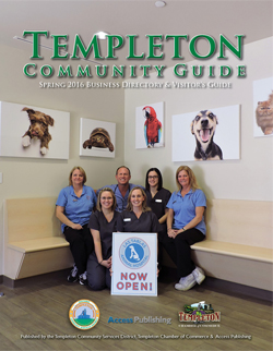 Templeton Chamber Guide, TCSD Activity Guide, Templeton Matters