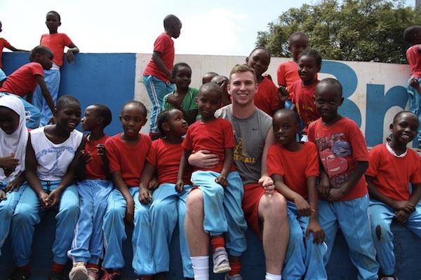 Kenyan volunteer templeton