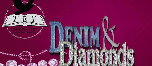 denim and diamonds, templeton education foundation