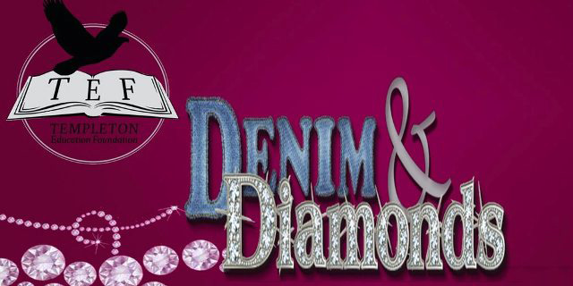 denim and diamonds, templeton education foundation