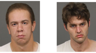 Suspects Stephen Maier and Kyle Turner.