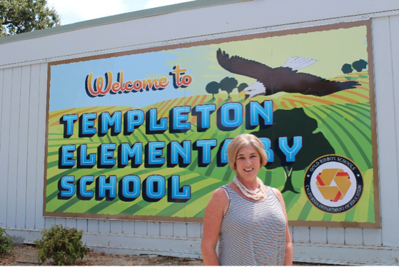 Krissy Lorz, Templeton Elementary School First-grade Teacher