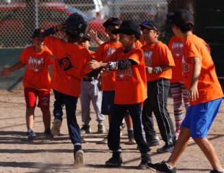 Junior Giants get free four week training from San Francisco Giants coaching staff