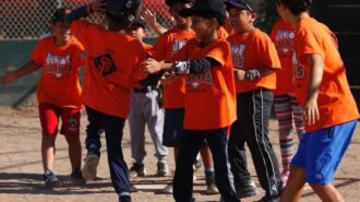 junior giants baseball team