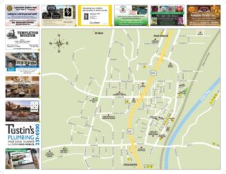 Get your business on the new Templeton Area Map