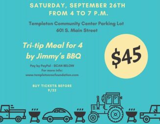 Templeton Recreation Department hosting drive-through barbecue fundraiser