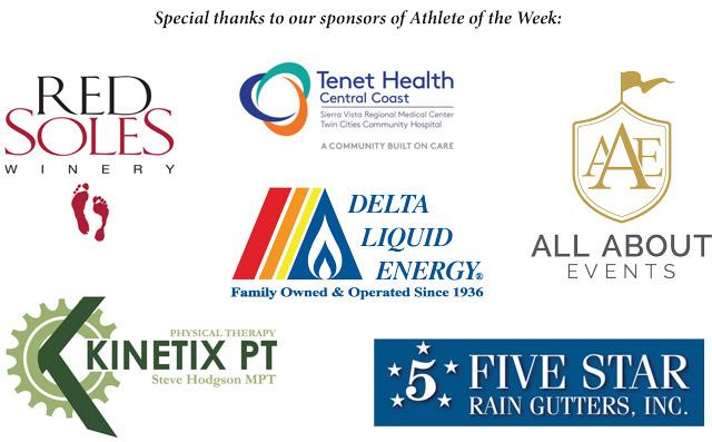 Templeton High School Athletes of the Week Sponsors