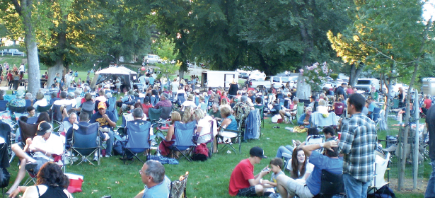 concert in the park templeton