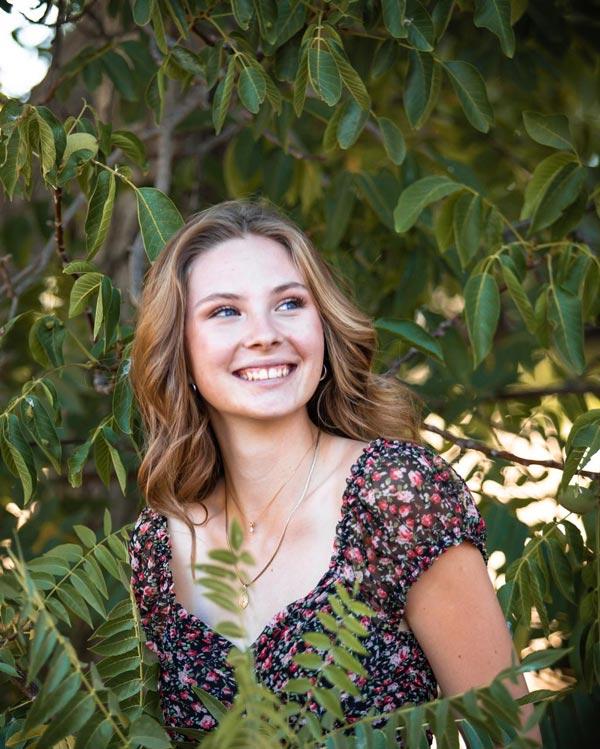 Templeton High School senior Audrey Krupa.