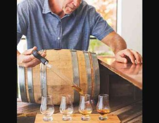 Central Coast Distillery awarded 'Visitors Experience Award' by Cal Travel Association